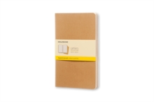 Moleskine Squared Cahier L - Kraft Cover, Notebook / blank book Book