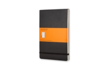 Large Reporter Ruled Notebook Black, Notebook / blank book Book