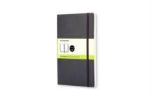 Moleskine Soft Large Plain Notebook Black, Notebook / blank book Book