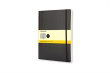 Moleskine Soft Extra Large Squared Notebook Black, Notebook / blank book Book