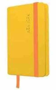 My New York - Notebook : Yellow Saffron, Paperback Book