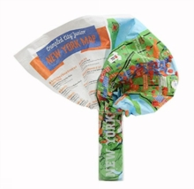 Junior New York Crumpled City Map, Sheet map Book