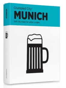 Munich Crumpled City Map, Sheet map Book