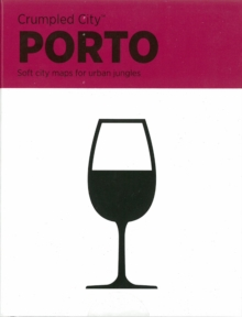 Porto Crumpled City Map, Sheet map Book