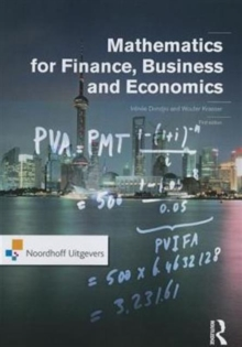 Mathematics for Finance, Business and Economics, Paperback Book