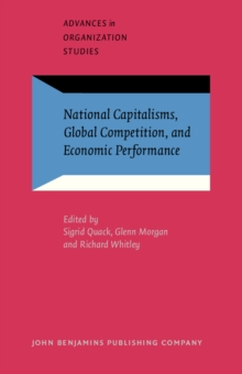 National Capitalisms, Global Competition, and Economic Performance, PDF eBook