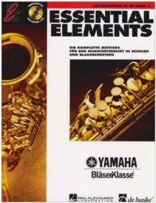 ESSENTIAL ELEMENTS BAND 2 FR ALTSAXOPHON,  Book