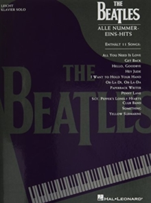 BEATLES ALLE NUMMEREINSHITS,  Book