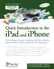 Quick Introduction to the ipad & iphone, Paperback Book