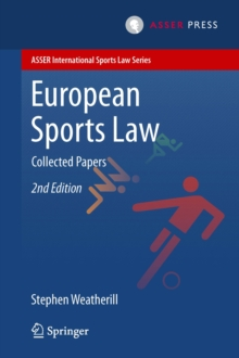 European Sports Law : Collected Papers, PDF eBook