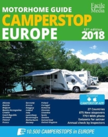 Motorhome guide Camperstop Europe 27 countries 2018 : FACILE.CAMP.ENG, Paperback Book