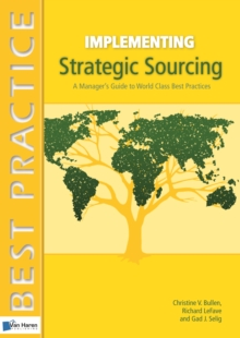Implementing Strategic Sourcing, Paperback Book