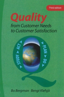 Quality from Customer Needs to Customer Satisfaction, Paperback Book