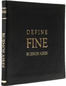 Define Fine City Guides Buenos Aires, Leather / fine binding Book