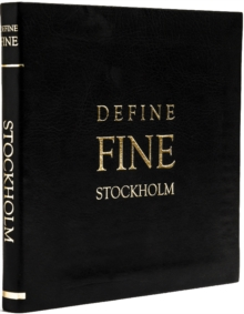 Define Fine City Guide Stockholm, Leather / fine binding Book