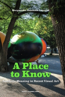 A Place to Know : Aesthetic Meaning in Recent Visual Art, Hardback Book