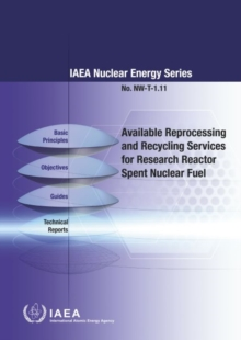 Available Reprocessing and Recycling Services for Research Reactor Spent Nuclear Fuel, Paperback / softback Book