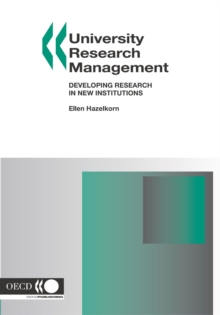 University Research Management Developing Research in New Institutions, PDF eBook