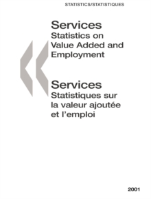 Services: Statistics on Value Added and Employment 2001, PDF eBook