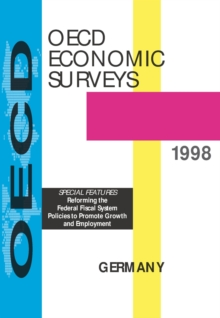 OECD Economic Surveys: Germany 1998, PDF eBook