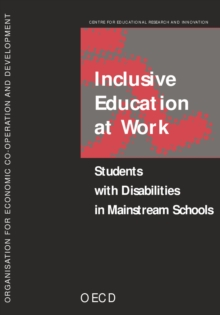 Inclusive Education at Work Students with Disabilities in Mainstream Schools, PDF eBook