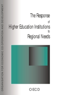 The Response of Higher Education Institutions to Regional Needs, PDF eBook