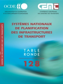 Tables Rondes CEMT Systemes nationaux de planification des infrastructures de transport, PDF eBook