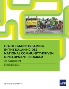 Gender Mainstreaming in KALAHI-CIDSS National Community-Driven Development Program : An Assessment, EPUB eBook