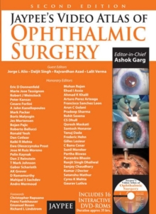 Jaypee's Video Atlas of Ophthalmic Surgery, Mixed media product Book