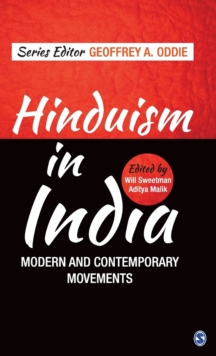 Hinduism in India : Modern and Contemporary Movements, Hardback Book