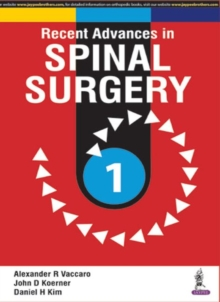 Recent Advances in Spinal Surgery, Paperback Book