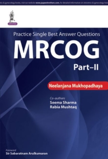 Practice Single Best Answer Questions : MRCOG Part 2, Paperback / softback Book