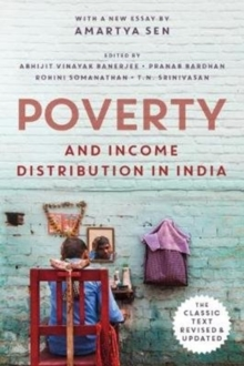 Poverty and Income Distribution in India, Hardback Book