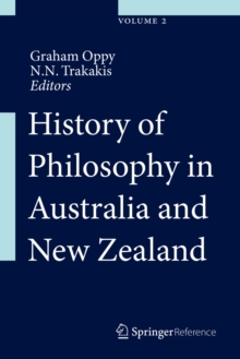 History of Philosophy in Australia and New Zealand, Hardback Book