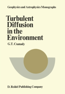 Turbulent Diffusion in the Environment, PDF eBook