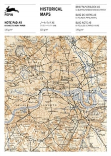 Historical Maps : Writing Paper & Note Pad A5, Paperback / softback Book