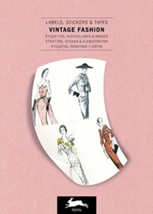 Vintage Fashion : Label & Sticker Book, Paperback / softback Book