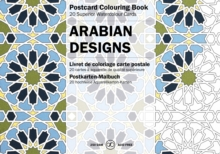Arabian Designs : Postcard Colouring Book, Paperback Book