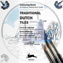 Traditional Dutch Tiles : Colouring Card Book, Paperback Book