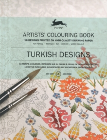 Turkish Designs : Artists' Colouring Book, Paperback Book
