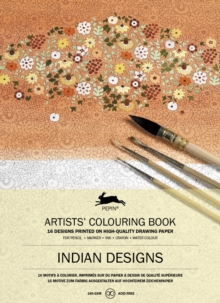 Indian Designs : Artists' Colouring Book, Paperback / softback Book