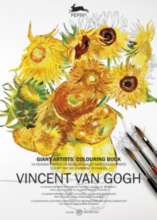 Van Gogh : Giant Artists' Colouring Book, Paperback Book