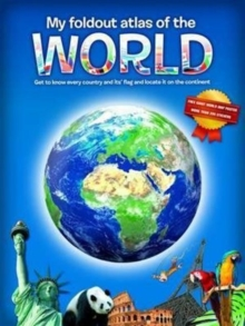 My Fold-Out Atlas of the World, Hardback Book