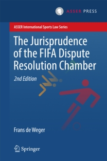 The Jurisprudence of the FIFA Dispute Resolution Chamber, PDF eBook