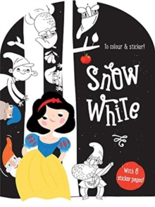 FAIRY TALES PASTE COL SNOW WHIT, Paperback Book