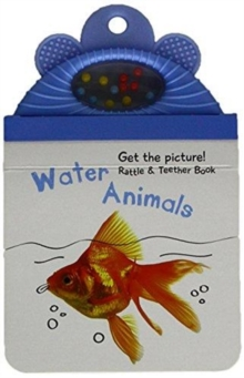 Baby Rattle Photo Book: Water Animals, Hardback Book