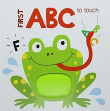 First concepts to touch: ABC, Hardback Book