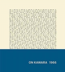 On Kawara: 1966, Hardback Book