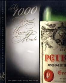 The 1000 Finest Wines Ever Made, Paperback Book