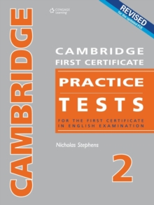 Cambridge First Certificate Practice Tests - Teacher's Book 2, Paperback Book